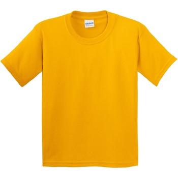 Abbigliamento Unisex bambino T-shirt maniche corte Gildan 5000B Oro