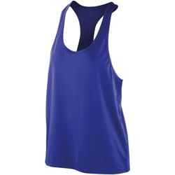 Abbigliamento Donna Top / T-shirt senza maniche Spiro SR285F Zaffiro