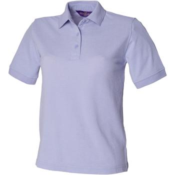 Abbigliamento Donna Polo maniche corte Henbury HB401 Lavanda