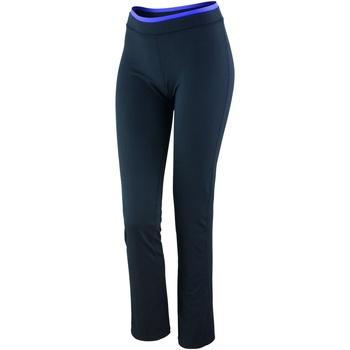 Abbigliamento Donna Leggings Spiro S275F nero/lavanda