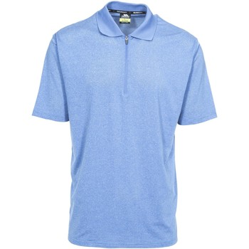 Abbigliamento Uomo Polo maniche corte Trespass Maraba Blu screziato