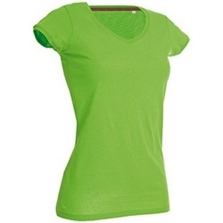 Abbigliamento Donna T-shirt maniche corte Stedman Stars Megan Verde brillante