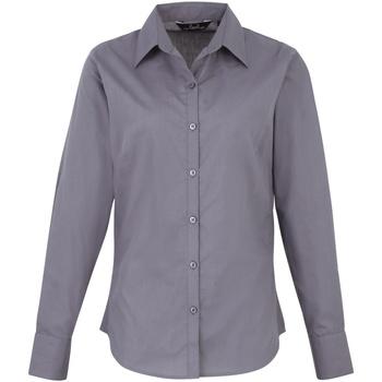 Abbigliamento Donna Camicie Premier PR300 Acciaio