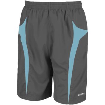 Abbigliamento Uomo Shorts / Bermuda Spiro S184X Grigio/verde acqua