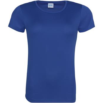 Abbigliamento Donna T-shirt maniche corte Awdis JC005 Blu reale