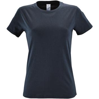Abbigliamento Donna T-shirt maniche corte Sols Regent Grigio topo