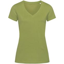 Abbigliamento Donna T-shirt maniche corte Stedman Stars Janet Verde