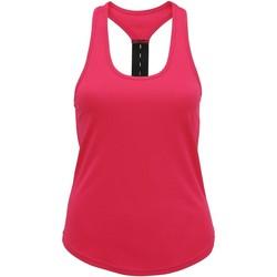 Abbigliamento Donna Top / T-shirt senza maniche Tridri TR027 Rosa acceso