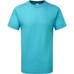 Abbigliamento Uomo T-shirt maniche corte Gildan H000 Azzurro