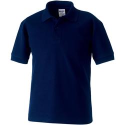 Abbigliamento Bambino Polo maniche corte Jerzees Schoolgear 65/35 Blu scuro