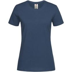 Abbigliamento Donna T-shirt maniche corte Stedman  Blu scuro
