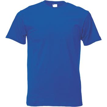 Abbigliamento Uomo T-shirt maniche corte Universal Textiles 61082 Blu cobalto