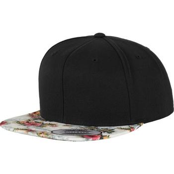 Accessori Cappellini Yupoong YP003 Nero/Fiori menta