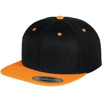 Accessori Cappellini Yupoong YP002 Nero/Arancio neon