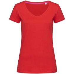 Abbigliamento Donna T-shirt maniche corte Stedman Stars Megan Rosso