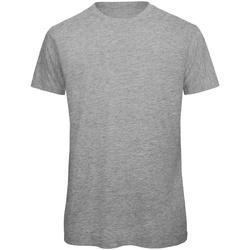 Abbigliamento Uomo T-shirt maniche corte B And C TM042 Grigio Sport