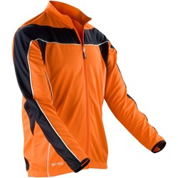 Abbigliamento Uomo Giacche sportive Spiro S255M Arancio/Nero