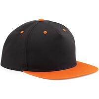 Accessori Cappellini Beechfield B610C Nero/Arancio