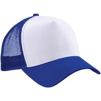 Accessori Cappellini Beechfield B640 Blu acceso/Bianco