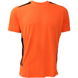 Abbigliamento Uomo T-shirt maniche corte Gamegear KK930 Arancio fluorescente/Nero