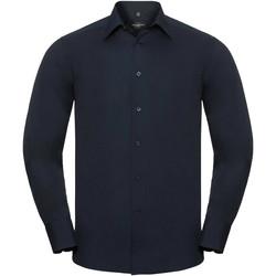 Abbigliamento Uomo Camicie maniche lunghe Russell 924M Blu