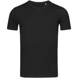 Abbigliamento Uomo T-shirt maniche corte Stedman Stars Morgan Nero