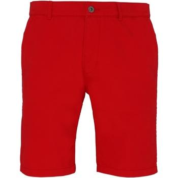 Abbigliamento Uomo Shorts / Bermuda Asquith & Fox AQ051 Rosso Ciliegia