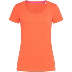 Abbigliamento Donna T-shirt maniche corte Stedman Stars  Rosa salmone