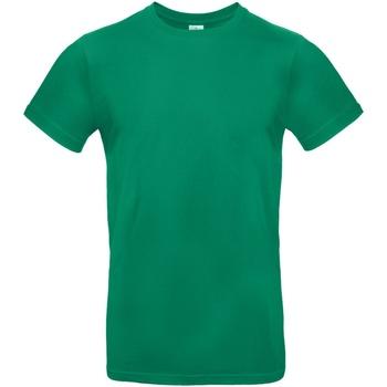 Abbigliamento Uomo T-shirt maniche corte B And C TU03T Verde kelly