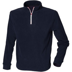 Abbigliamento Uomo Felpe in pile Finden & Hales LV570 Blu navy/Bianco