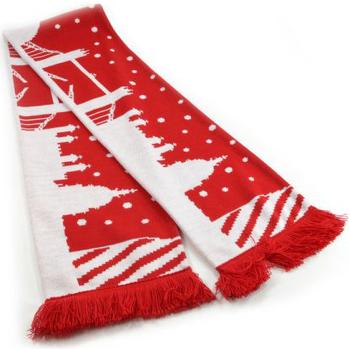 Accessori Sciarpe Universal Textiles  Rosso/Bianco