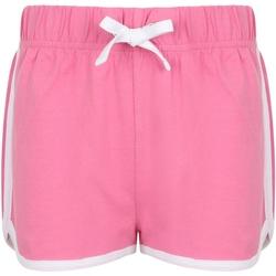 Abbigliamento Unisex bambino Shorts / Bermuda Skinni Fit SM69 Rosa/Bianco