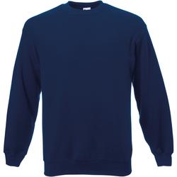 Abbigliamento Uomo Felpe Universal Textiles 62202 Blu navy