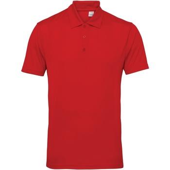 Abbigliamento Uomo Polo maniche corte Tridri TR012 Rosso Fuoco