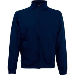 Abbigliamento Uomo Felpe Fruit Of The Loom 62228 Blu scuro