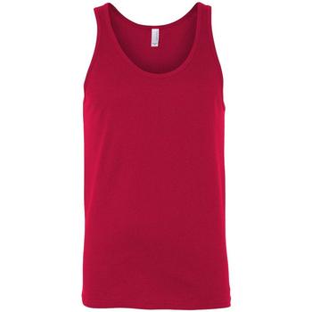 Abbigliamento Donna Top / T-shirt senza maniche Bella + Canvas CA3480 Rosso
