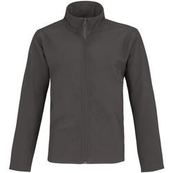 Abbigliamento Uomo Giacche sportive B And C Two Layer Grigio scuro/Arancione neon