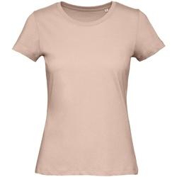 Abbigliamento Donna T-shirt maniche corte B And C TW043 Rosa cipria