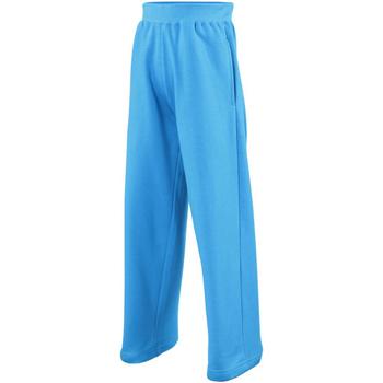 Abbigliamento Unisex bambino Pantaloni da tuta Awdis  Blu zaffiro