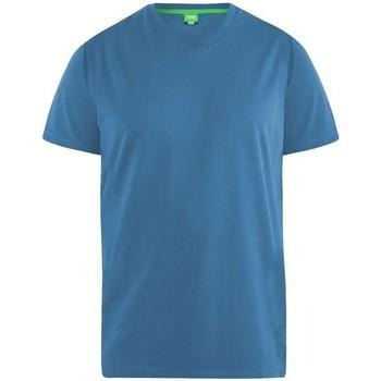 Abbigliamento Uomo T-shirt maniche corte Duke  Azzurro
