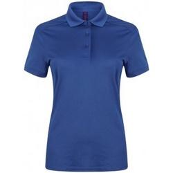 Abbigliamento Donna Polo maniche corte Henbury HB461 Blu reale