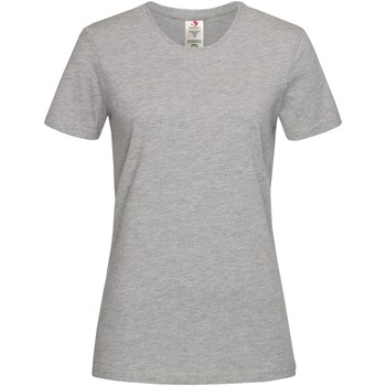 Abbigliamento Donna T-shirt maniche corte Stedman  Grigio screziato