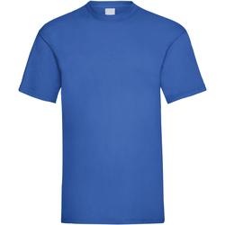 Abbigliamento Uomo T-shirt maniche corte Universal Textiles 61036 Blu cobalto