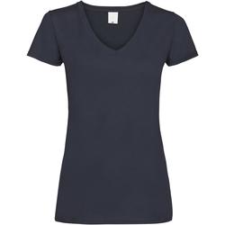Abbigliamento Donna T-shirt maniche corte Universal Textiles Value Blu notte