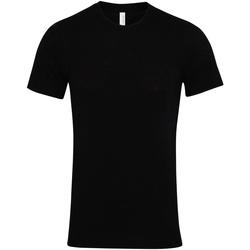 Abbigliamento T-shirt maniche corte Bella + Canvas CV001 Nero
