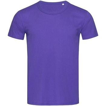 Abbigliamento Uomo T-shirt maniche corte Stedman Stars Stars Viola