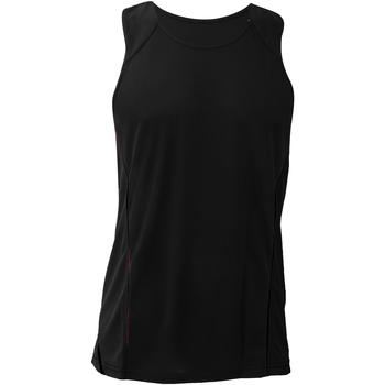 Abbigliamento Uomo Top / T-shirt senza maniche Gamegear KK973 Nero/Nero