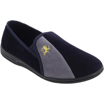Scarpe Uomo Pantofole Zedzzz Aaron Navy blu/Grigio