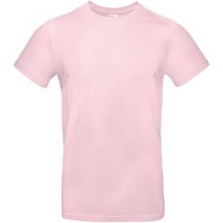 Abbigliamento Uomo T-shirt maniche corte B And C TU03T Rosa orchidea