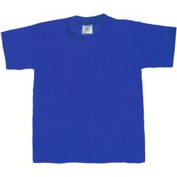 Abbigliamento Unisex bambino T-shirt maniche corte B And C Exact 190 Blu reale